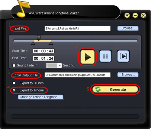 Chahunga Main Ringtone Download: How To Use AVCWare IPhone Ringtone Maker
