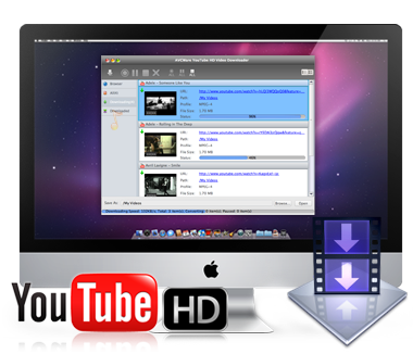 Click to view Youtube HD Downloader 4.24 screenshot