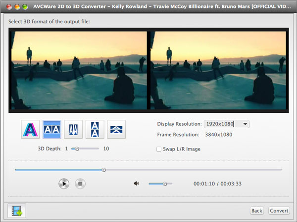 2D to 3D MKV Converter-Necessary Features