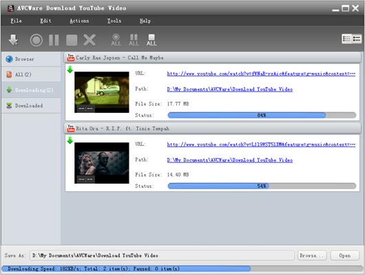 FREE YouTube Downloader - AVCWare Download YouTube Video