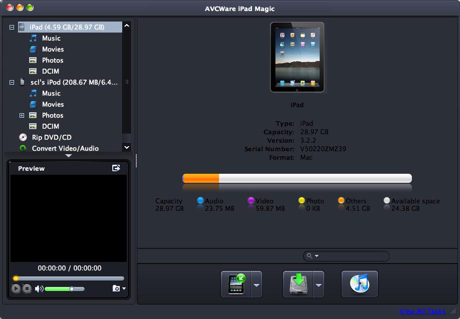 AVCWare iPad Magic for Mac 3.3.0.1220