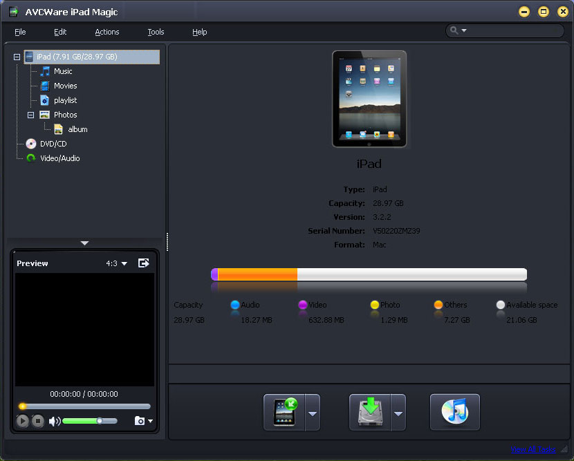 AVCWare iPad Magic 3.3.0.1203 full