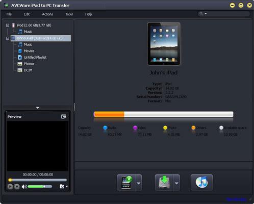 Transfer iPad files between iPad/PC/iTunes