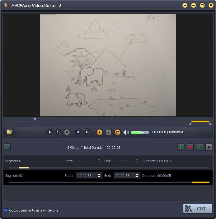 Practical video cutter software