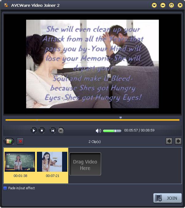 Windows 7 AVCWare Video Joiner 2.0.1.0111 full