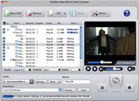 AVCWare Mac DVD to iPod Converter 2.0.8.1127 full